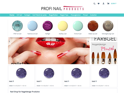 Prestashop 1.7 design =- easy nail